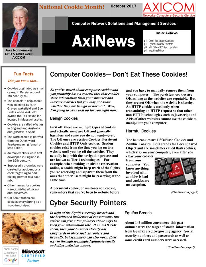 Newsletter Archive June 2017