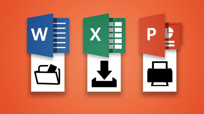 Easy Office Keyboard Shortcuts