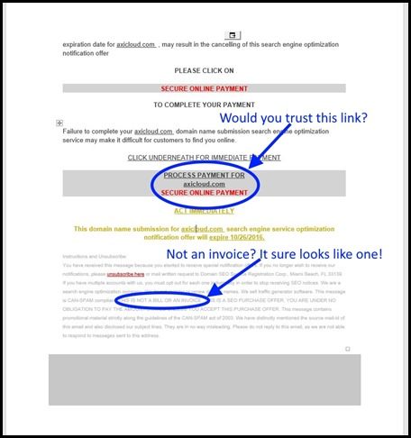 domain name scam - Page 2
